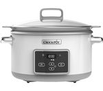 CROCK-POT DuraCeramic Sauté Slow Cooker - White