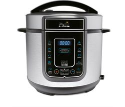 PRESSURE KING Pro Digital Pressure Cooker - Chrome