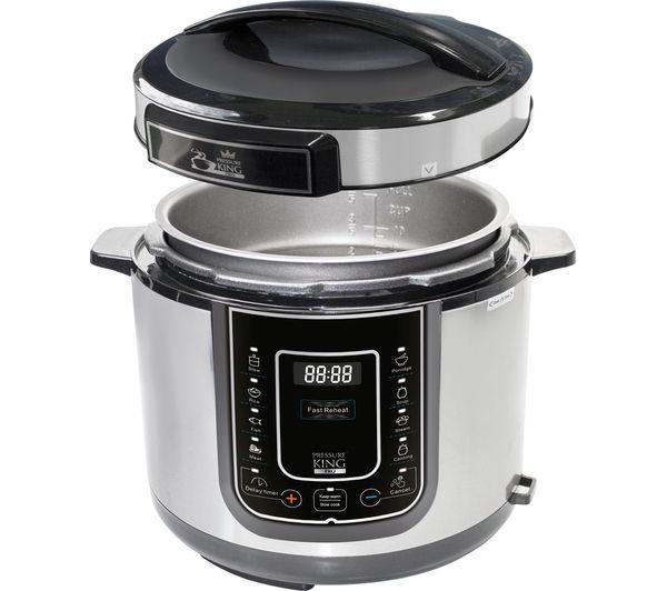 King Mini Kitchen: Buy PRESSURE KING Pro Digital Pressure Cooker