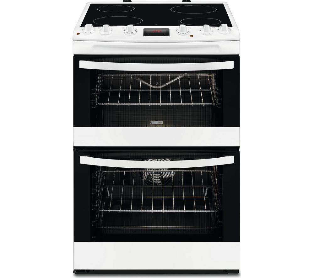 ZANUSSI ZCV664FPW 60 cm Electric Cooker - White