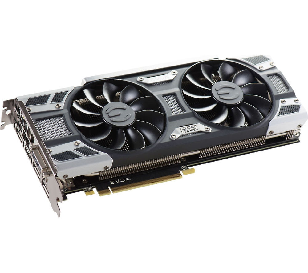 EVGA GeForce GTX 1080 8 GB SC ACX 3.0 Graphics Card
