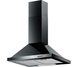 BAUMATIC F70.2BL Chimney Cooker Hood - Black
