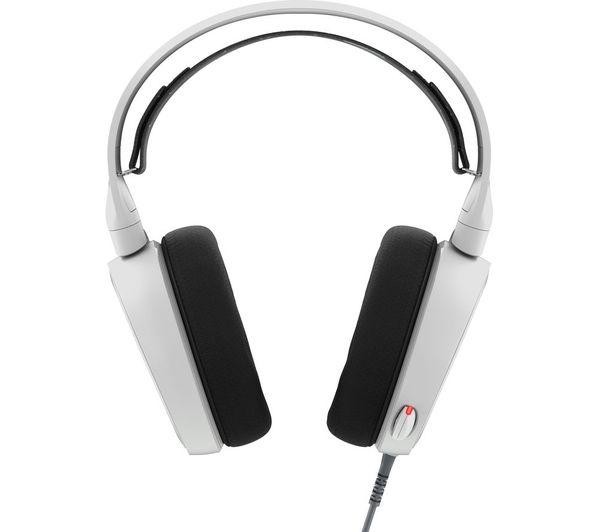buy steelseries arctis 5 7 1 gaming headset white free. Black Bedroom Furniture Sets. Home Design Ideas