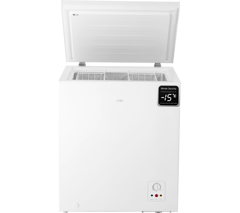 LOGIK L142CFW17 Chest Freezer - White, White