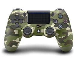 DualShock 4 V2 Wireless Controller - Green Camo