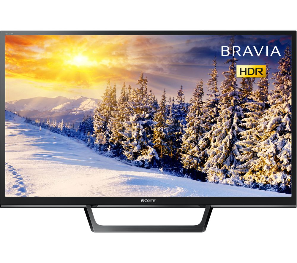 "Image of 32"" SONY BRAVIA KDL32WE613BU HDR LED TV, Silver"