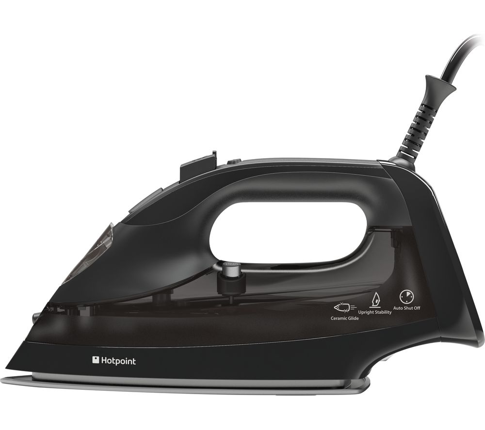 HOTPOINT SI E40 BA1 Steam Iron - Black