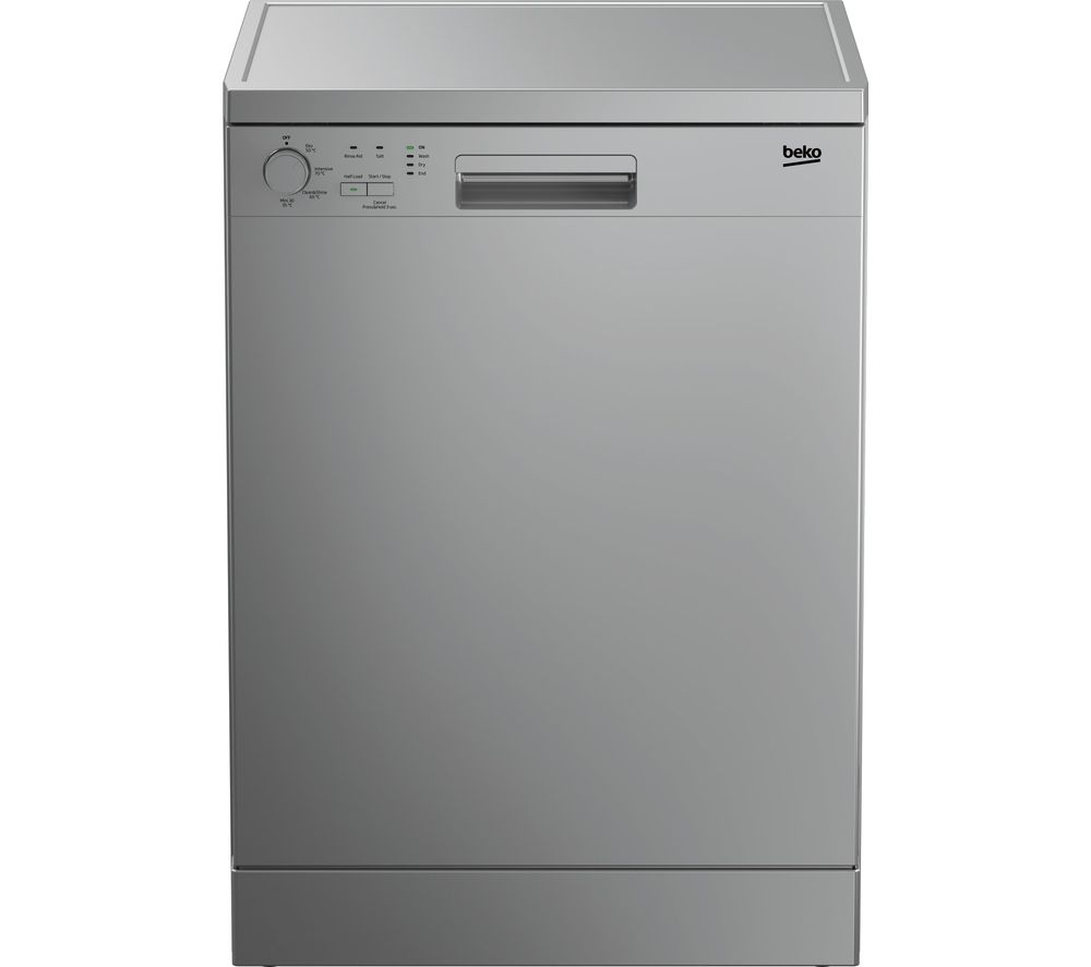 BEKO DFN04210S Full-size Dishwasher - Silver