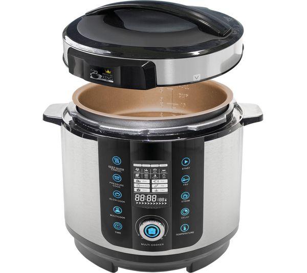 King Mini Kitchen: Buy PRESSURE KING Pro Digital Pressure & Multi-Cooker