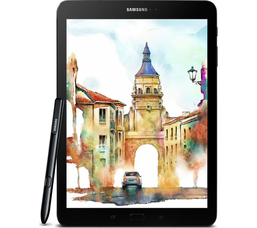 "Galaxy Tab S3 9.7"" Tablet & S Pen - 32 GB, Black"