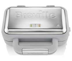 VST072 Waffle Maker - Grey & Stainless Steel