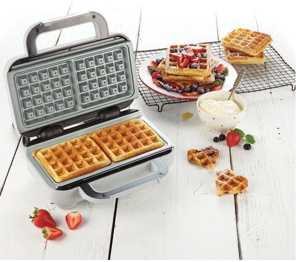 Buy Breville Vst072 Waffle Maker Grey Amp Stainless Steel