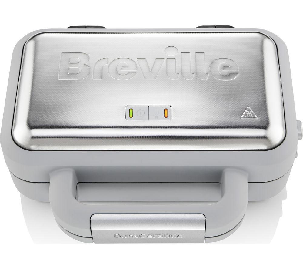 BREVILLE VST072 Waffle Maker - Grey & Stainless Steel