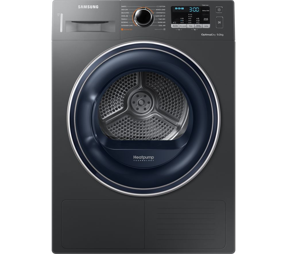 SAMSUNG DV90M50003X/EU 9 kg Heat Pump Tumble Dryer - Graphite