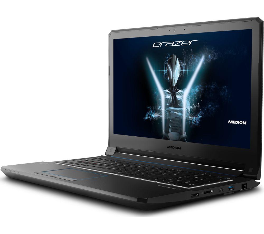 """MEDION ERAZER X6603 15.6"""" Gaming Laptop - Black"""