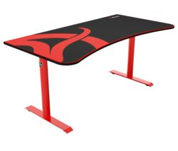 AROZZI Arena Gaming Desk - Red & Black