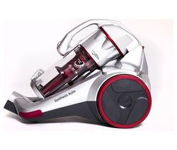 HOOVER Synthesis Activ STC18LI Cordless Vacuum Cleaner - Metallic & Red