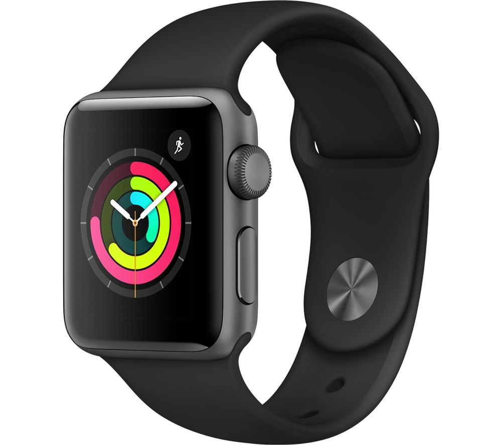 APPLE Watch Series 3 38 mm Black cheapest retail price