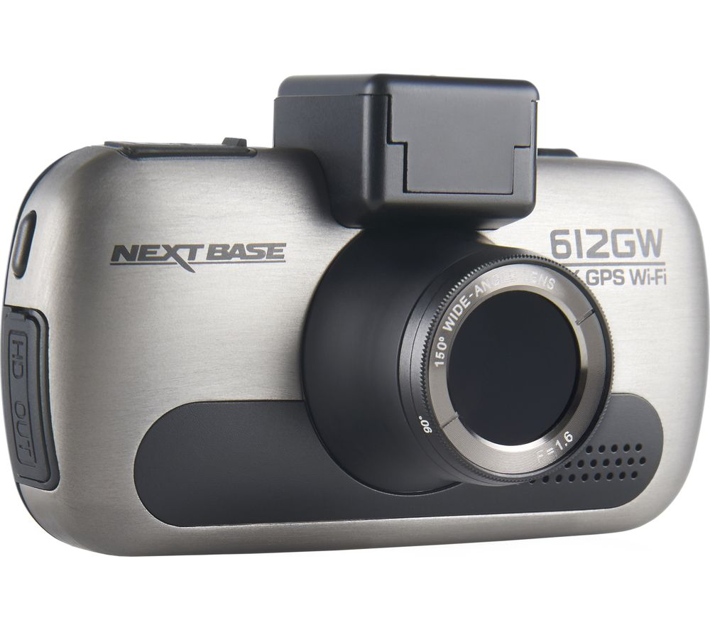 NEXTBASE 612GW Dash Cam - Dark Chrome