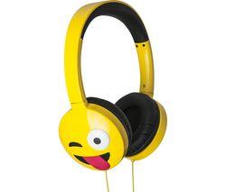 Jamogi Just Kidding Kids Headphones - Yellow