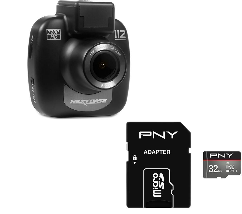 NEXTBASE 112 Lite Dash Cam & 32 GB Turbo Class 10 MicroSDHC Memory Card Bundle specs