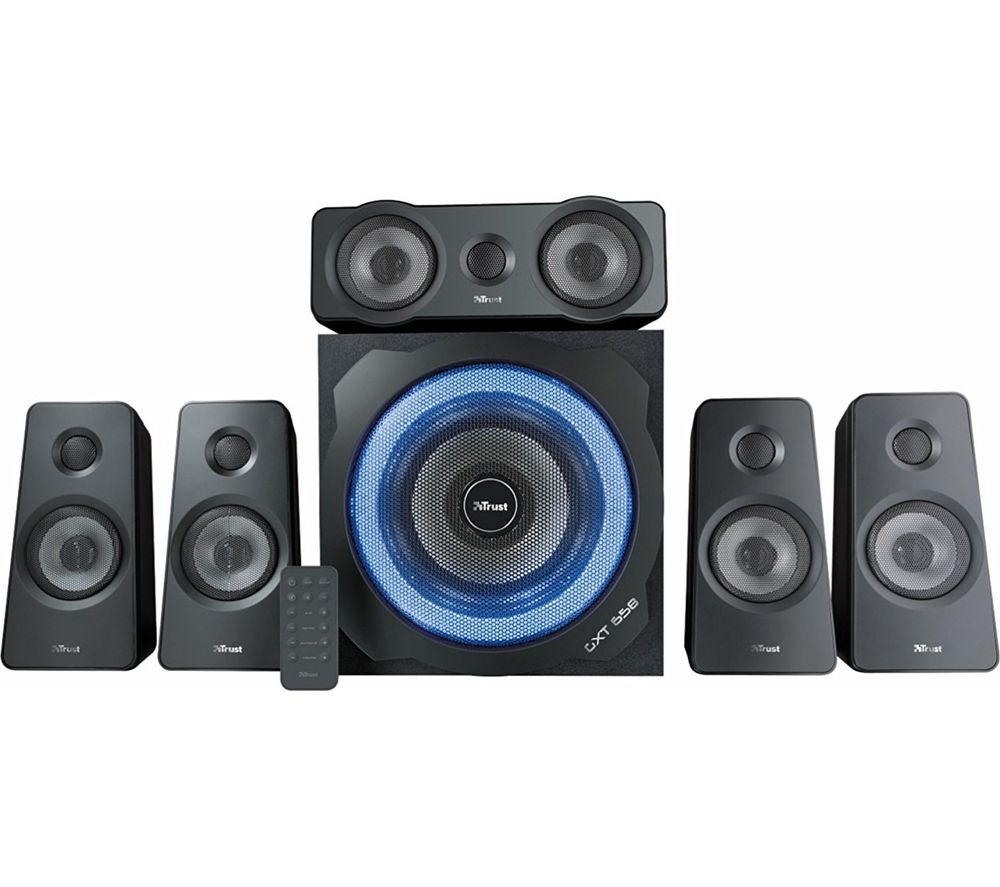 TRUST Tytan GXT 658 5.1 PC Speakers Reviews