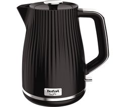 TEFAL Loft KO250840 Rapid Boil Traditional Kettle - Piano Black