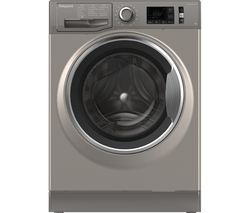 HOTPOINT Active Care NM11 845 GC A UK 8 kg 1400 Spin Washing Machine - Graphite