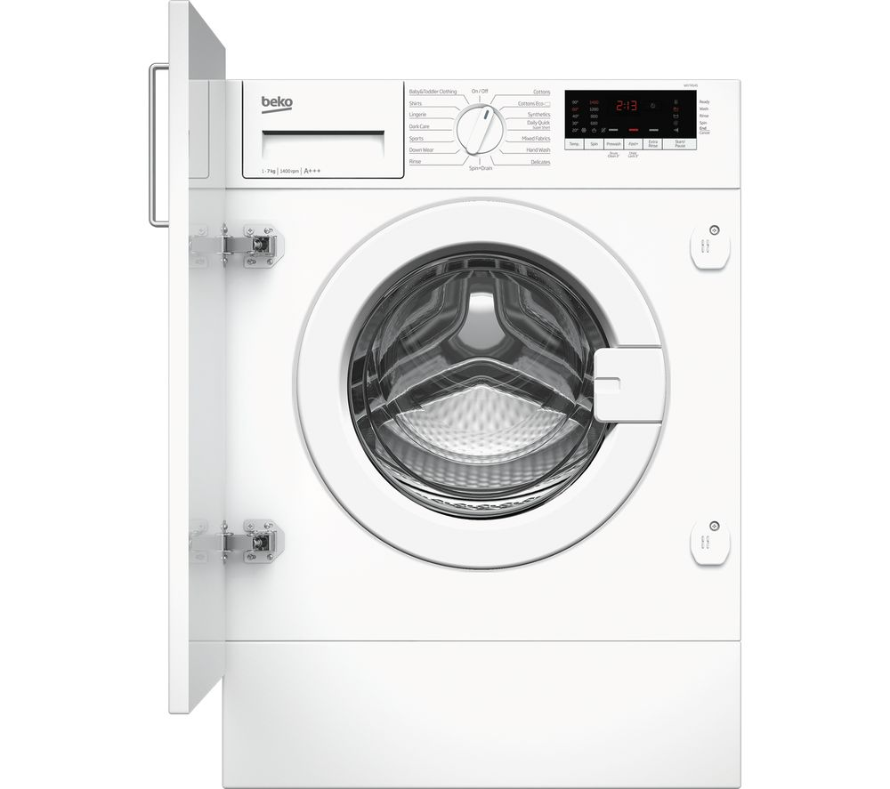 BEKO WIY74545 Integrated 7 kg 1400 Spin Washing Machine