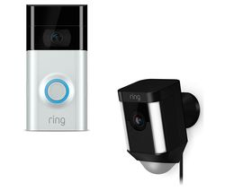 RING Spotlight Cam - Black