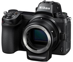NIKON Z 6 Mirrorless Camera with FTZ Mount Adapter