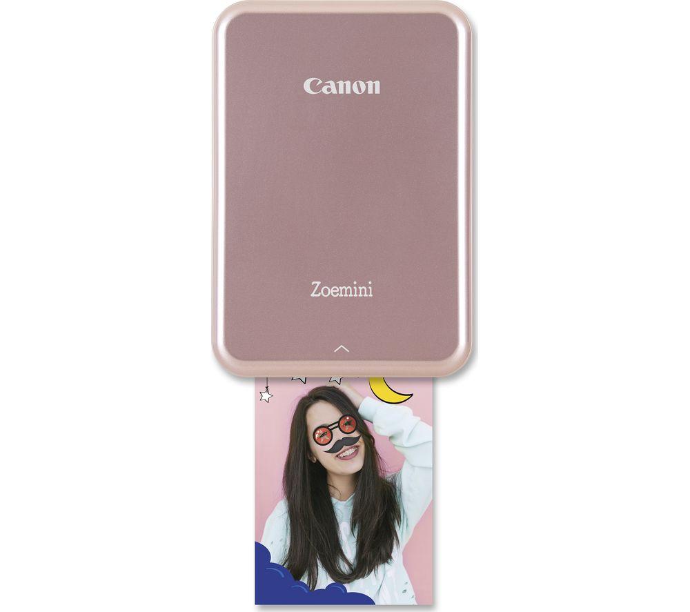 CANON Zoemini Mobile Photo Printer - Rose Gold