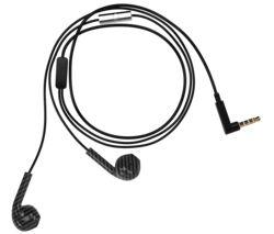 Earbud Plus Earphones - Black & Grey