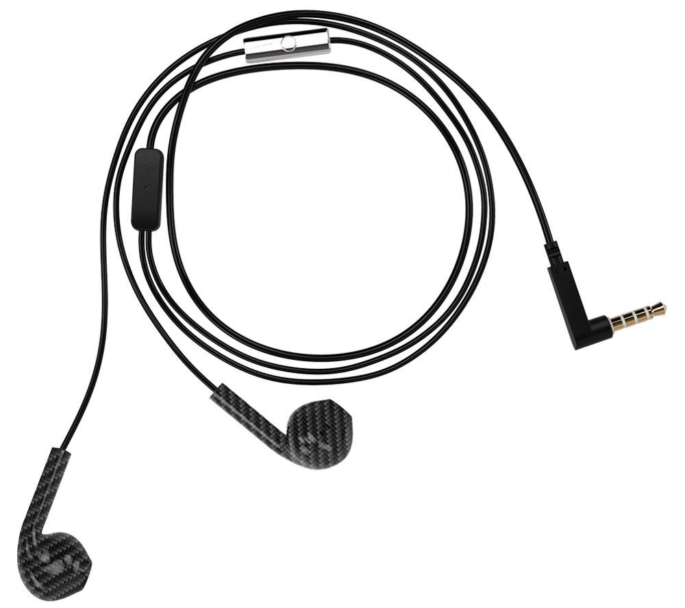 Image of HAPPY PLUGS Earbud Plus Earphones - Black & Grey, Black
