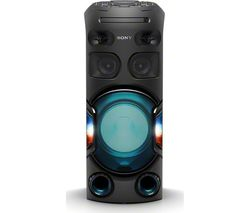 MHC-V42D Bluetooth Megasound Party Speaker - Black