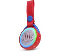 JBL JR POP Portable Bluetooth Speaker - Red