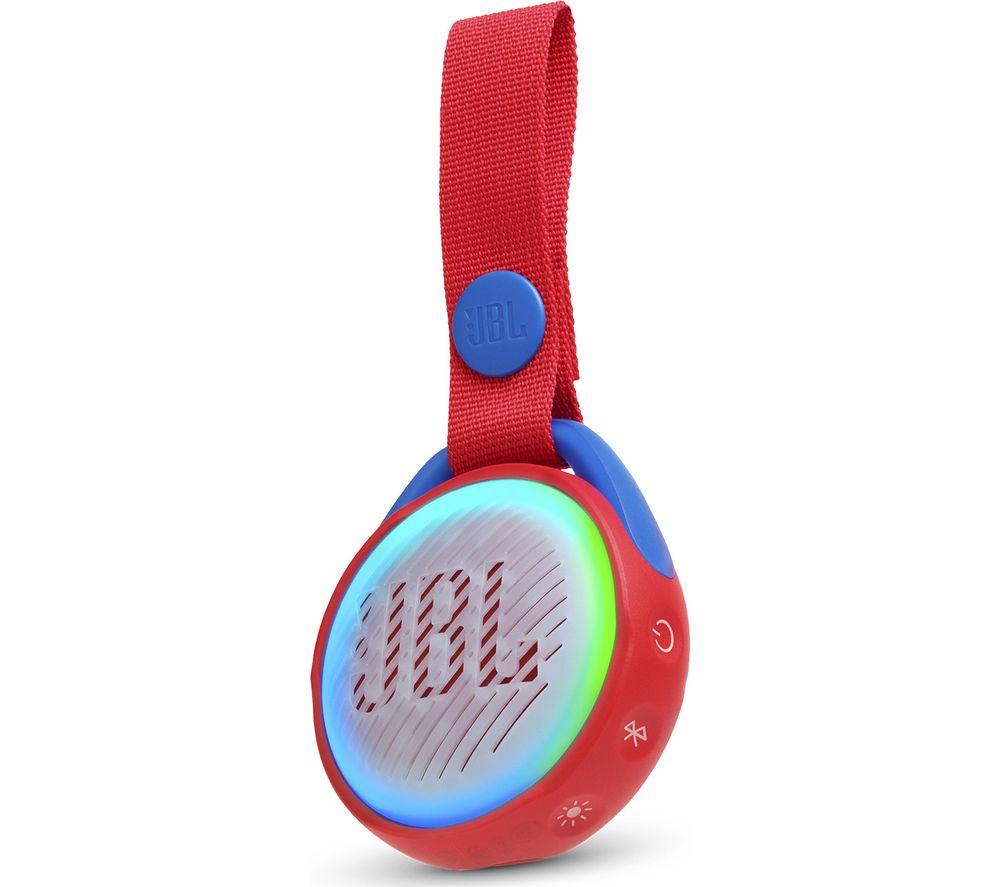 JBL JR POP Portable Bluetooth Speaker - Red