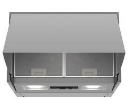 BOSCH Serie 2 DEM63AC00B Integrated Cooker Hood - Silver