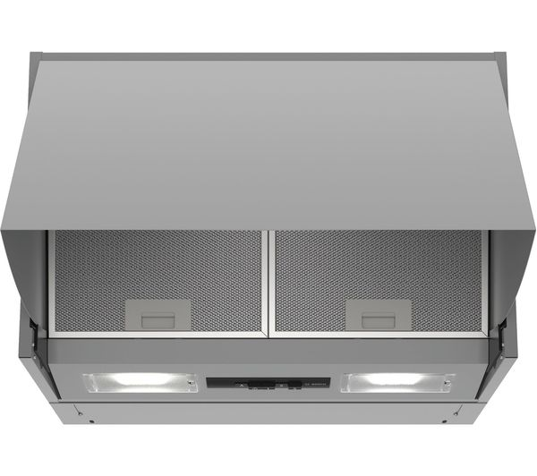 Image of BOSCH Serie 2 DEM63AC00B Integrated Cooker Hood - Silver
