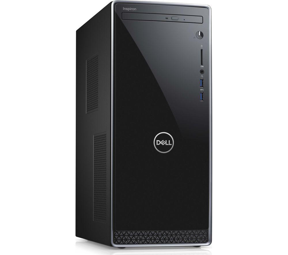 DELL Inspiron 3670 Intel® Core™ i5 Desktop PC - 1 TB HDD & 256 GB SSD, Black & Silver