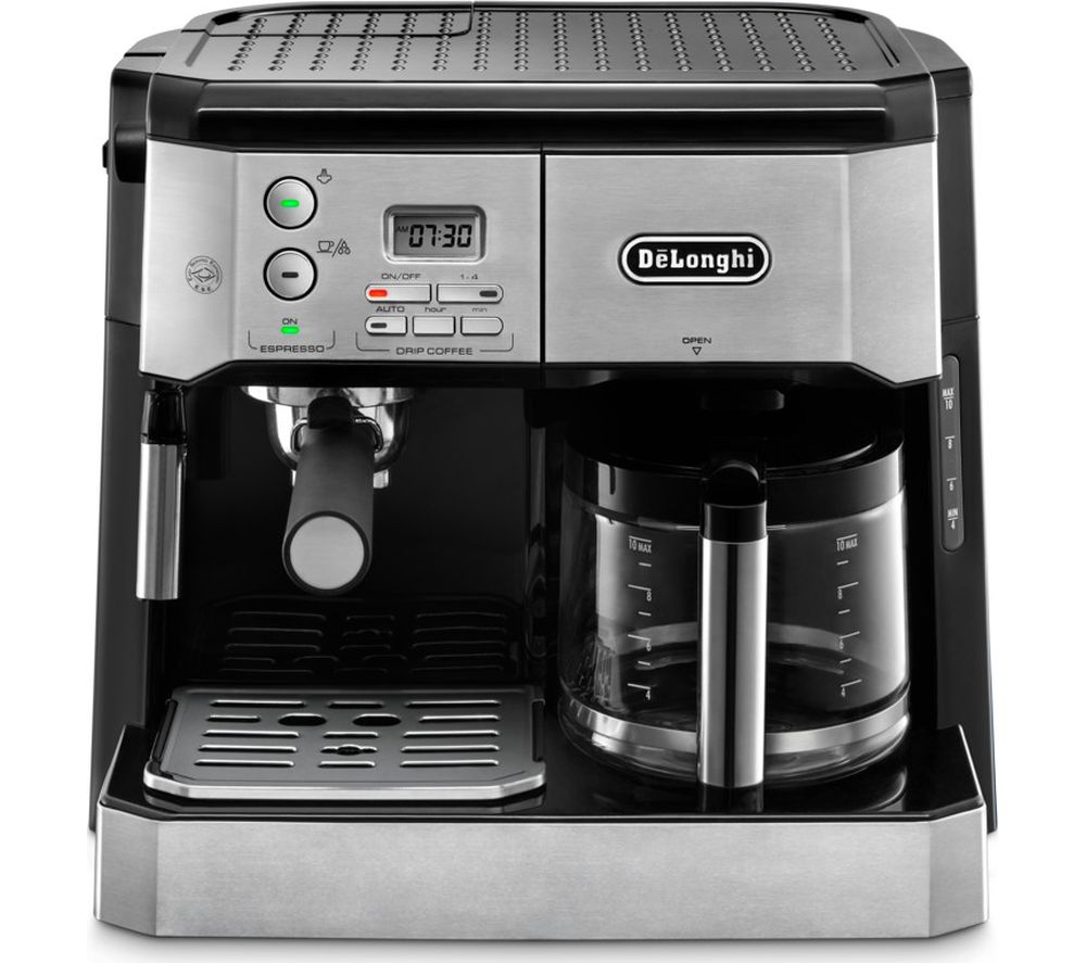 Combi BCO431.S Filter Coffee Machine - Silver & Black, Silver