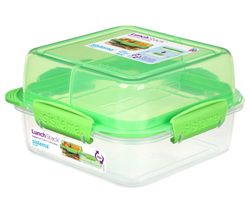 Lunch Stack To Go Square 1.24-litre Container