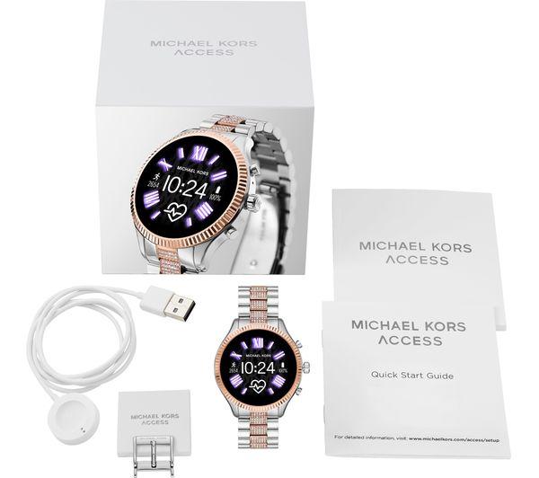 Buy MICHAEL KORS Access Lexington 2 MKT5081 Smartwatch - Silver ...