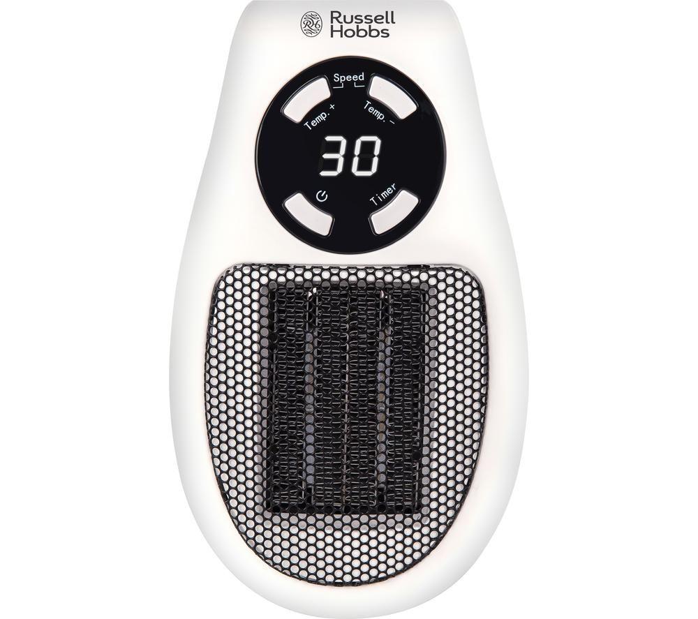 RHPH2001 Ceramic Plug Heater - Black & White, Black