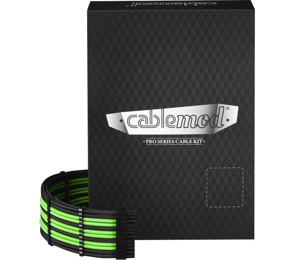 CABLEMOD PRO ModMesh C-Series AXi, HXi & RM Cable Kit - Black & Light Green