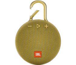 JBL Clip 3 CLIP3YEL Portable Bluetooth Speaker - Yellow