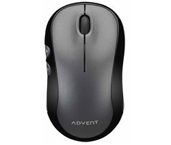 AWLMSL20 Silent Wireless Optical Mouse - Grey