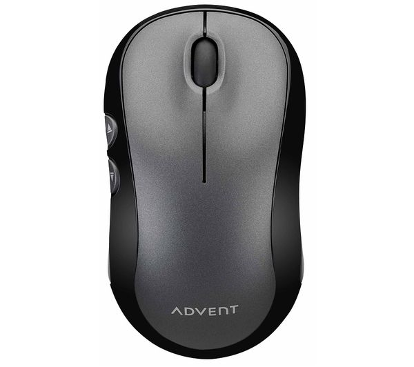 Image of ADVENT AWLMSL20 Silent Wireless Optical Mouse - Grey