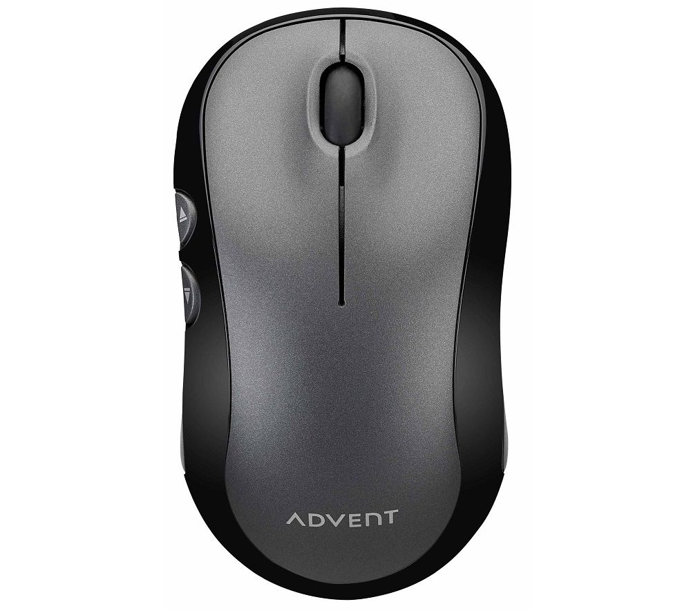 Image of ADVENT AWLMSL20 Silent Wireless Optical Mouse - Grey, Grey