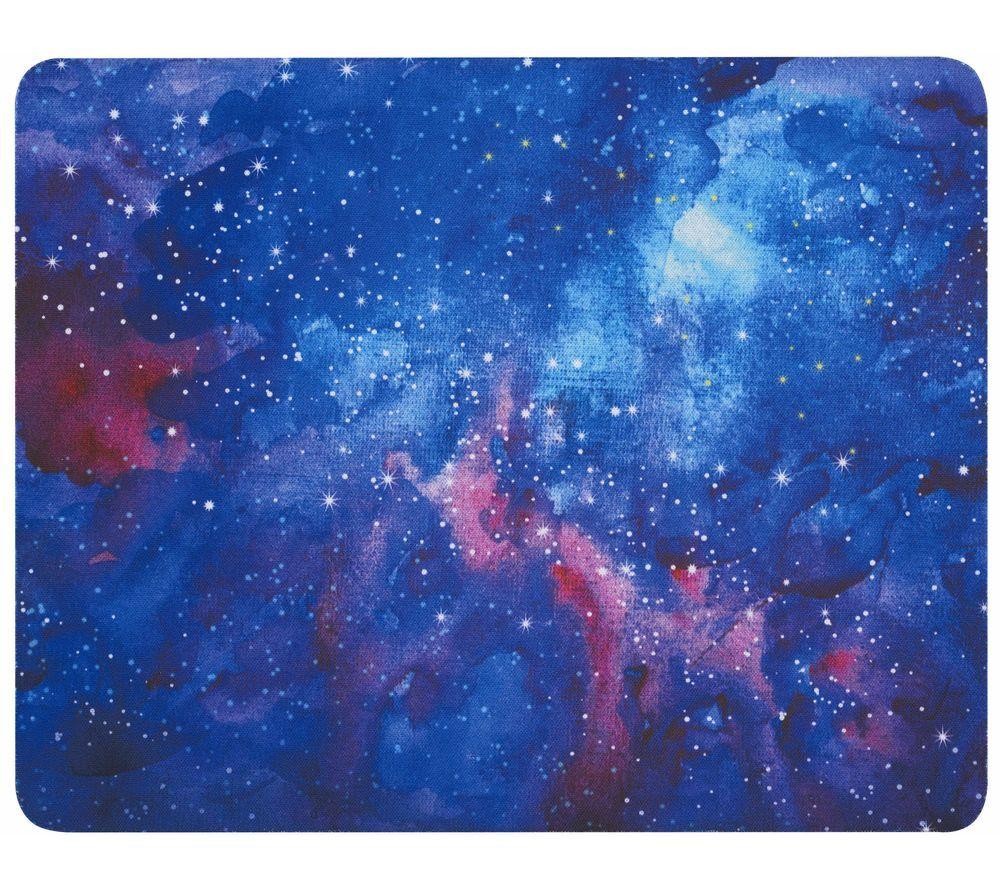LOGIK LMMBL20 Mouse Mat - Blue Constellation